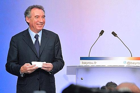 FRANCE2012-ELECTIONS-MODEM-BAYROU