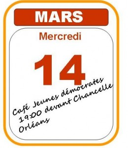 calendar mars 14