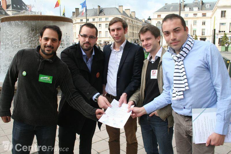 5 jeunes pour vote