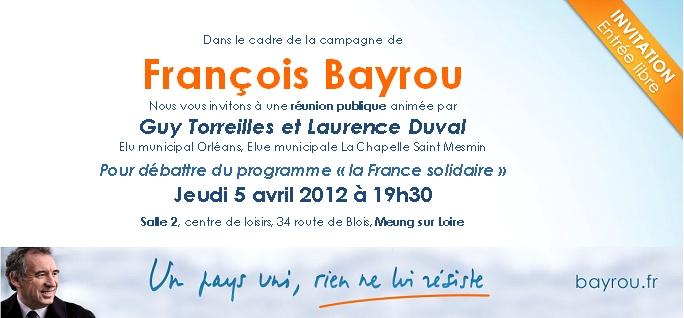 Tract Meung sur Loire Invitation
