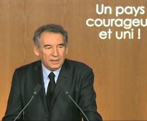 Bayrou Voeux 2013